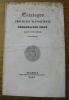 Catalogus provinciae neopolitanae Societatis Iesu, Ineunte Anno MDCCCXXXIX..