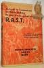 R.A.S.T. En hydravion de Zurich au Cap de Bonne-Espérance. Le Raid Aérien Suisse -Transafricain. Préface du Pr A.Heim. 108 illustrations, 5 cartes ...