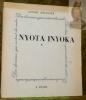 NYOTA INYOKA. Collection Des Danseurs qui sortent du Cadre n°1. . Roudanez, Loulou.