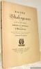 Racine et Shakspeare N° 11 par M. de Stendhal ou Réponse au manifeste contre le Romantisme. Edition ornée d'un portrait de Stendhal et de vignettes ...