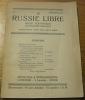 LA RUSSIE LIBRE. Revue scientifique, littéraire et sociale. N° 4..