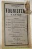 Artaria's neueste Touristen-Karten im Maassstabe von 1 W.-Zoll = 1800 W.-Klafter. II: Gmunden, Ischl, Hallsadt, Aussee..