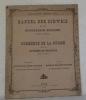 Commerce de la Suisse avec le Royaume de Belgique (1871-1877). Publié par le Bureau de statistique du Département fédéral de l'intérieur.Handel der ...