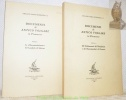 """Documenti di antico volgare in Piemonte. 2 volumes.I: Le """"Recomendaciones"""" del Laudario di Saluzzo.II: Gli Ordinamenti dei Disciplinati e dei ..."""