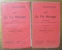 La Vie héroïque 1915 Conférences. 2 brochures. - Epouses et mères. - Nos jeunes filles.. SERTILLANGES, A. de.