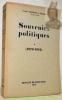 Souvenirs politiques. 1878 - 1918. Avec une photo hors-texte.. CARTON DE WIART, Comte Henri.
