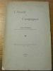 L'avenir des campagnes. Mémoire publié à l'occasion du Jubilé de l'Université 1559–1909.. WUARIN, Louis.