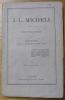 """J.-L. Micheli. Notice Biographique. Extrait du """"Chrétien Evangélique"""".. RUFFET, Louis."""