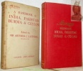 A handbook for travellers in India, Pakistan, Burma and Ceylon. 17. Edition with numerous maps and plans.. LOTHIAN, A.C.
