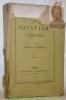 Les Squatters Australiens.. CASTELLA, Hubert de.