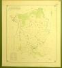 Commune de Bossonnens. Plan d'ensemble. Levé par L. Genoud.Carte topographique 5.000. Format 64x72cm..