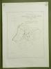 Gemeinde von Courtaman Übersichtsplan von Ign. de Weck. Topographische Karte 5.000. Format 50x70cm..