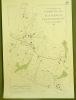 Commune de Vuisternens-devant-Romont. Plan d'ensemble. Levé par J. Corminboeuf.Carte topographique 5.000. Format  50x70cm..