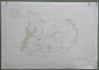 Commune de Romanens. Plan d'ensemble. Levé par E. Pochon.Carte topographique 5.000. Format  70x50cm..
