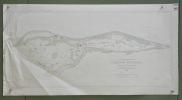 Gemeinde Wünnewil Übersichtsplan. Topographische Karte 5:000 von A. Winkler. Format 115x60cm..