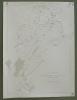 Commune de Sâlles (Gruyère). Plan d'ensemble. Levé par E. Pochon. Carte topographique 5:000. Format 75x100cm..