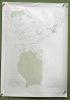 Gemeinde Oberschrot. Übersichtsplan. Topographische Karte 5:000 von L. Genoud. Format 70x100cm..