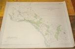 Gemeinde Giffers und Neuhaus. Übersichtsplan. Topographische Karte von Arnold Gapany. 5:000  Format 100x76cm..