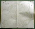 Gemeinde  Ueberstorf. Übersichtsplan. Topographische Karte von M. Winkler. 5:000  Format 120x100cm..
