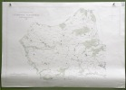 Gemeinde Alterswil. Übersichtsplan. Topographische Karte. 5:000  Format 100x70cm..