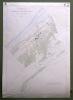 Commune de Cheyre. Plan d'ensemble. Levé par J. Ansermot Carte topographique 5:000. Format 70x100cm ..