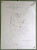 Commune de Rueyres-Treyfayes. Plan d'ensemble.  Levé par E. Pochon Carte topographique 5:000. Format 50x70cm..