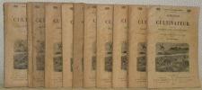 Almanach du Cultuvateur. Par les Rédacteurs du Journal d'Agriculture Pratique. Orné de nombreuses gravures. 1899 à 1909, mais sans l'année 1902..