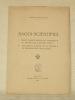 Saggi Scientifici. I. Breve Dissertazione su i fondamenti e i metodi della ricerca fisica. II. Una nuova ipotesi su la natura e la propagazione della ...