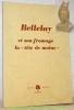 """Bellelay et son fromage la """"tête de moine"""".."""