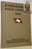 Schweizerisches Rhein-Jahrbuch 1926.Herausgegeben vom Verband der Interessenten an der Schweizer Rheinschiffahrt in Basel.. GROSCHUPF, Louis.