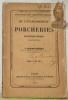 De l'établissement des porcheries. Disposition diverses, construction. Bibliothèque de l'Agriculteur Praticien.. GRANDVOINNET, J.