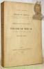 Bibliographie des oeuvres de Gérard de Nerval avec un précis sur l'histoire de ses livres. 37 fac-similés de titres et couvertures de manuscrits et ...