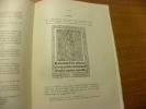 Livres de Liturgie imprimés aux XVe et XVIe siècles faisant partie de la bibliothèque de Son Altesse Royale le Duc Robert de Parme..