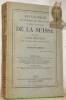 Encyclopédie des sciences, lettres et arts et revue panoptique de la Suisse. Suivie d'un Guide artisitique avec cinquante gravures dans le texte. ...