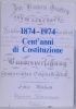 1874-1974 Cent'anni di Costituzione..