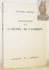 Bibliographie de l'oeuvre de C. F. Ramuz.. BRINGOLF, Théophile.