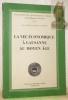 La vie économique à Lausanne au Moyen Age. Bibliothèque historique vaudoise n° 62.. ANEX-CABANIS, Danielle.