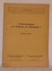 "Untersuchungen zur Methode der Ethnologie I.""Anthropos. Revue Internationale d'Ethnologie et de Linguistique. Tome XXXV-XXXVI, 1940-1941. ..."