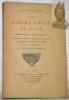 La guirlande de Julie. Augmentée de pièces nouvelles publiée sur le manuscrit original avec une notice de Gaignières et de Bure et des notes Par Ad. ...