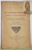 De la poésie françoise jusques à Henry Quatrième. Edition ornée d'un portrait frontispice avec une introduction, des notes et un index Par G. Michaut. ...