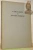A Bibliography on Japanese Buddhism.. BANDO SHOJUN. - HANAYAMA SHOYU. - SATO RYOJUN. - SAYEKI SHINKO. - SHIMA KEIRYU.