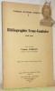 """Bibliographie Franc-Comtoise 1940-1960. """"Cahiers d'études comtoises."""" """"Annales littéraires de l'Université de Besançon, volume 40."""". FOHLEN, Claude."""