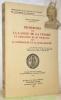 Recherches sur la langue de la Vénerie et l'influence de du Fouilloux dans la littérature et la lexicographie. Ouvrage publié avec le concours du ...