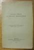 Bulletin critique et chronique bibliographique. Extrait de l'Archivum Latinitatis Medii Aevi, tome XVI, 1941..