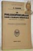 """La philosophie arabe dans l'Europe médiévale. Des origines à Averroès. Collection: """"Bibliothèque Scientifique"""".. QUADRI, G."""