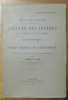 """Notes inédites de Sainte-Beuve. Avec une introduction et un commentaire. """"Recueil de travaux publiés par la Faculté des Lettres. Seizième fascicule."""". ..."""