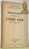 Bibliographie des écrits de André Gide. (Depuis 1891 jusqu'en 1952). Préface de Maurice Bedel.. NAVILLE, Arnold.