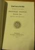 AD MAJOREM DEI GLORIAM. Catalogus Sociorum et Officiorum Provinciae Franciae Societatis Jesu, ineunte Anno MDCCCXLII. .