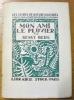 """Mon ami le pluvier.Collection : """"Les Livres de Nature Illustrés"""".. BERG, Bengt."""