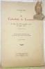 La Cathédrale de Lausanne. Sa place dans l'iconographie sacrée du XIIIme siècle. Avec planches hors texte. Conférence faite le 8 décembre 1926 à la ...